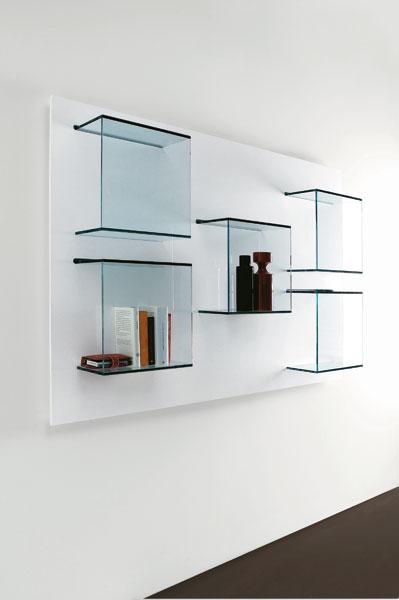 La bottega del vetraio for Mensole chiuse